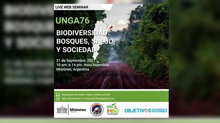 Misiones organiza un simposio virtual sobre biodiversidad en el marco de la asamblea de la ONU